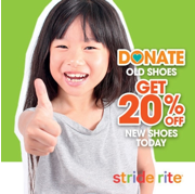 Stride Rite Launches Shoe Donation Campaign