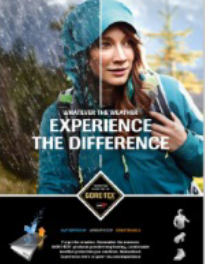 Gore-Tex Debuts Global, Multi-Channel Marketing Campaign