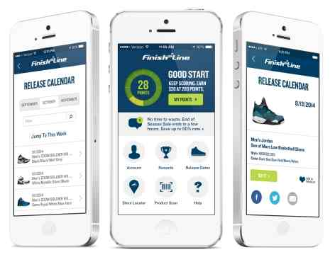 Finish Line Bolsters Customer Loyalty with New App
