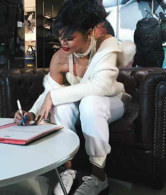 Puma Names Rihanna its Global Ambassador