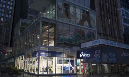 Asics Opens Times Square Store