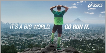 Asics Launches Global Advertising Campaign