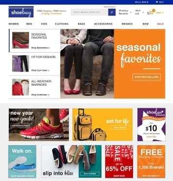 ShoeBuy Redesigns Website