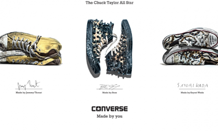 "Converse Launches ""Made by You"" Campaign"
