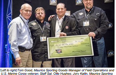 Maurice Sporting Goods Supports Heroes on the Water