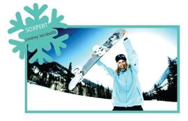 Soxxy Sponsors Snowboarder Lindsey Jacobellis
