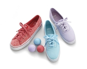 Keds Partners with Skincare Brand on Collection