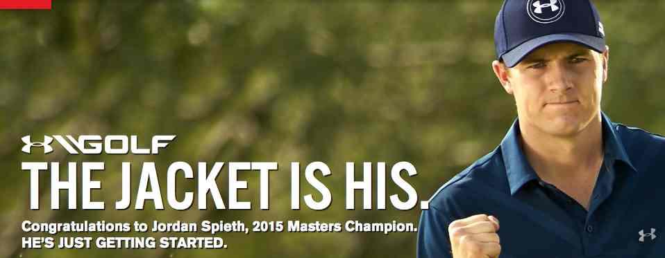 Under Armour Celebrates Jordan Spieth's Masters Win