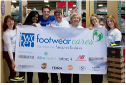 Two Ten Footwear Foundation Supports One Boston Day