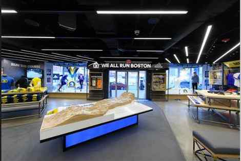 Adidas, BAA and Marathon Sports Open First RunBase in U.S.
