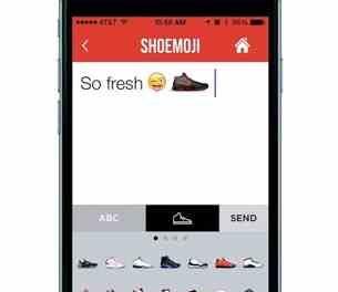 Foot Locker Introduces Shoemoji