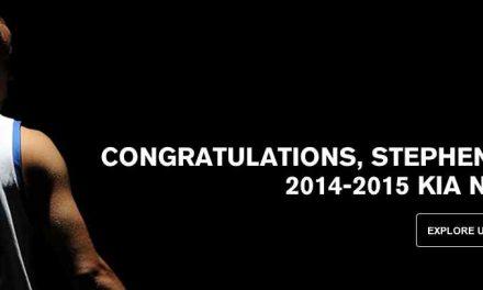 Under Armour-Sponsored Stephen Curry Wins NBA MVP Award