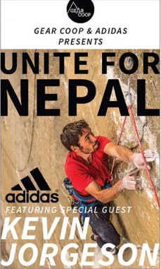 Gear Coop and Adidas Outdoor Hold Nepal Benefit