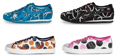 Onitsuka Tiger Collaborates with Japanese Textile Brand Makumo