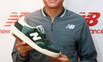 New Balance Extends Agreement with Tennis Player Milos Raonic