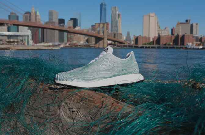 Adidas Collaborates with Parley for the Oceans