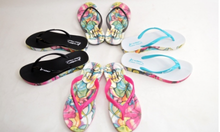 Rider Sandals Brings Art to Life